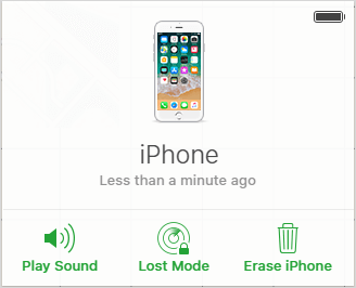 eliminar contraseña por iCloud
