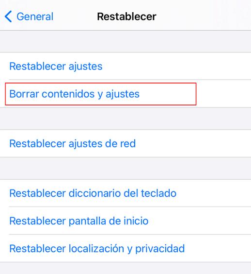 desactivar el limite de tiempo en iPhone