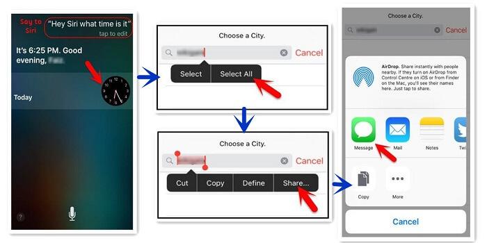 desbloquear ipod mediante siri