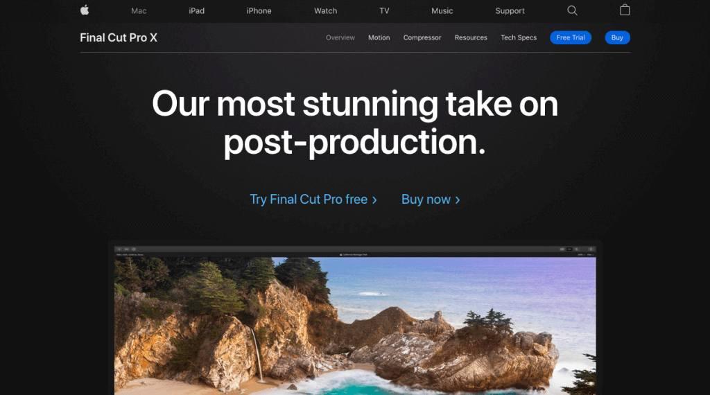 Final Cut Pro X editar videos de youtube en mac