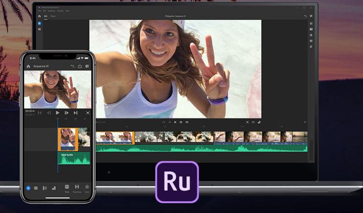 Premiere Rush editores de videos para movil
