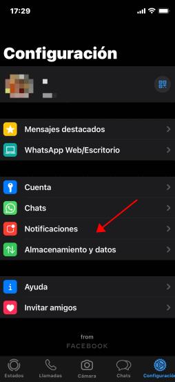 Activa Las Notificaciones de WhatsApp en notificación