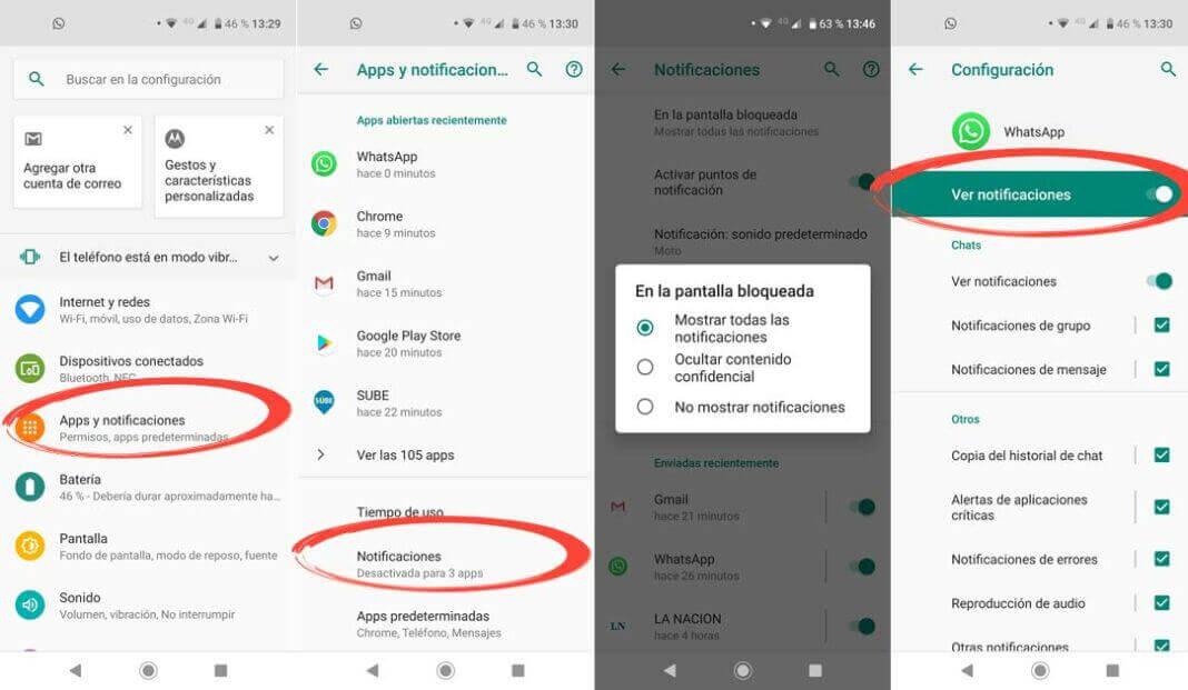 Activar Las Notificaciones de WhatsApp