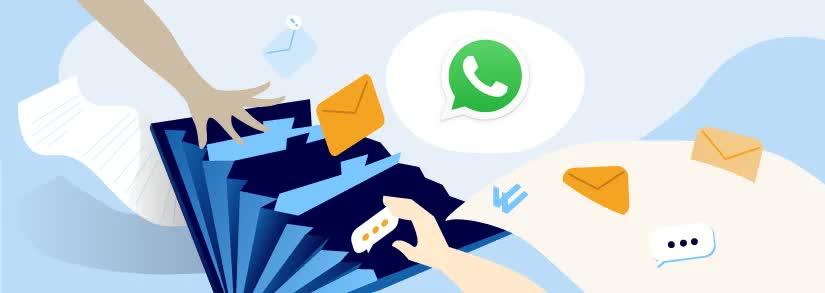 cómo buscar los mensajes de WhatsApp