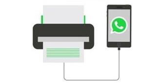 imprimir fotos de WhatsApp