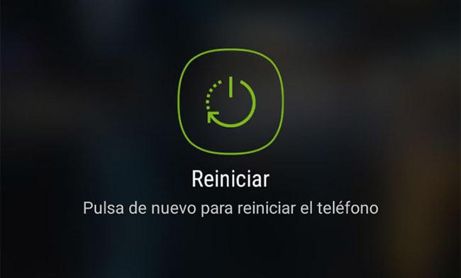 Reiniciar el dispositivo Android