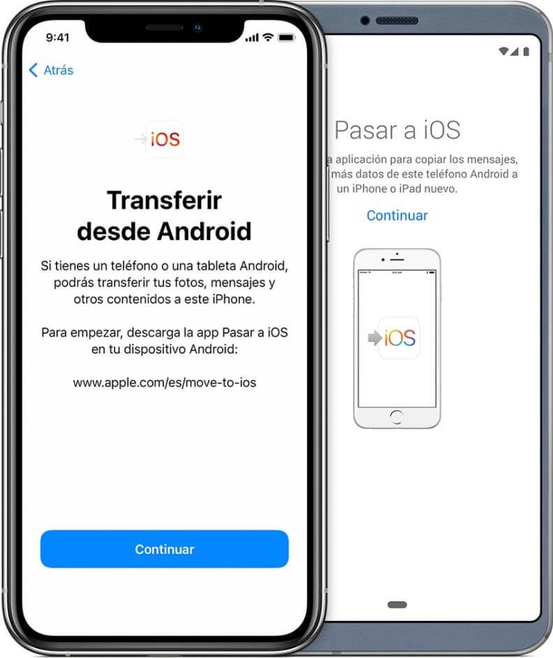 Qué es Move to iOS