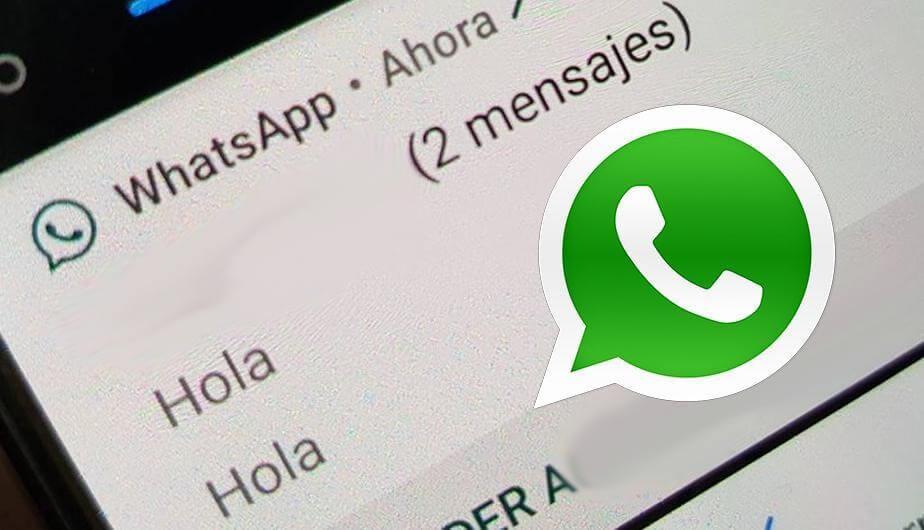 mensajes de WhatsApp no llegan