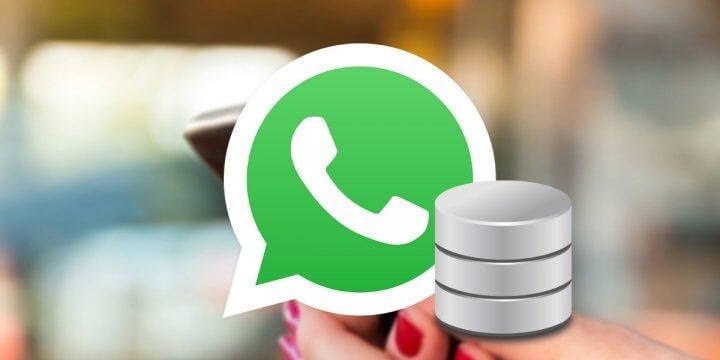 Dónde se guardan los mensajes de WhatsApp