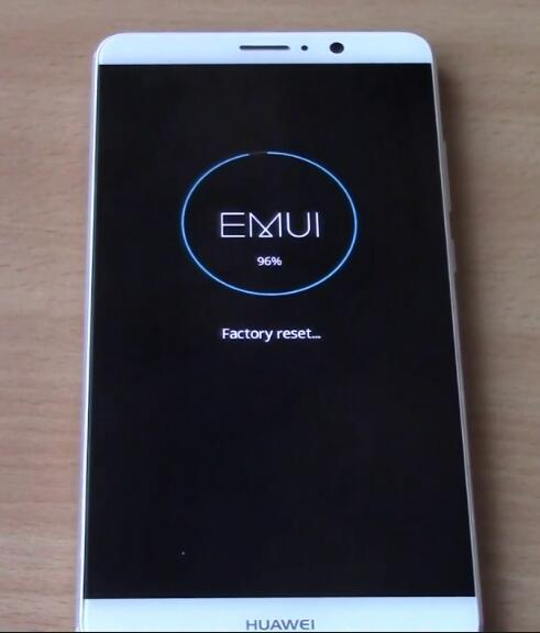 factory reset to unlock a huawei phone password