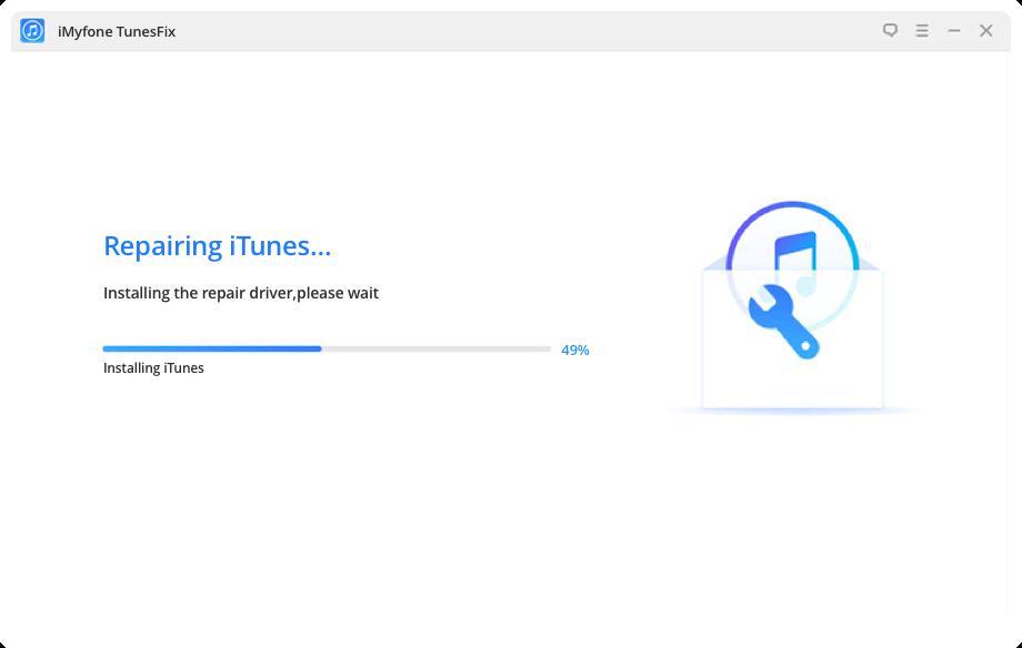 iTunes 修復