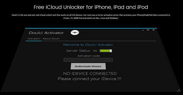 Doulci iCloud Unlock