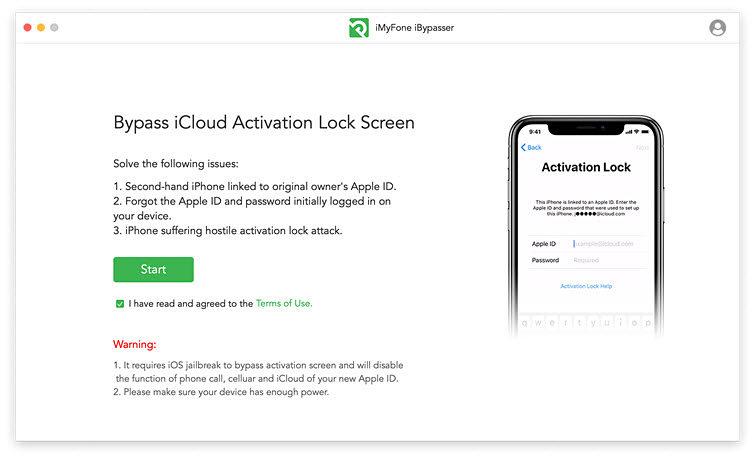 iCloudロック解除ツール