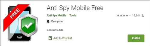 Anti Spy Mobile Free ロゴ