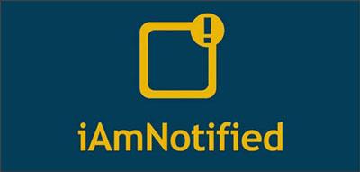 iAmNotified ロゴ