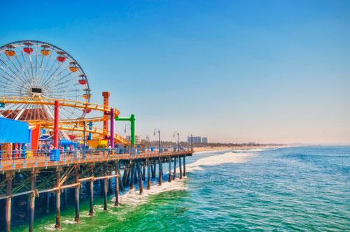 アメリカロサンゼルス - サンタモニカピア