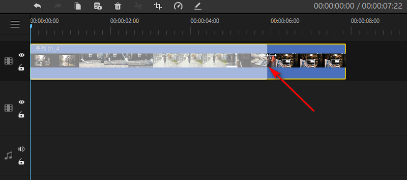 ビデオの長さを調整する