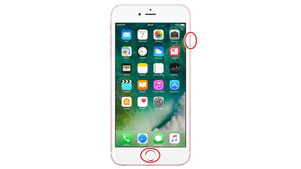 iPhone 6s 強制再起動