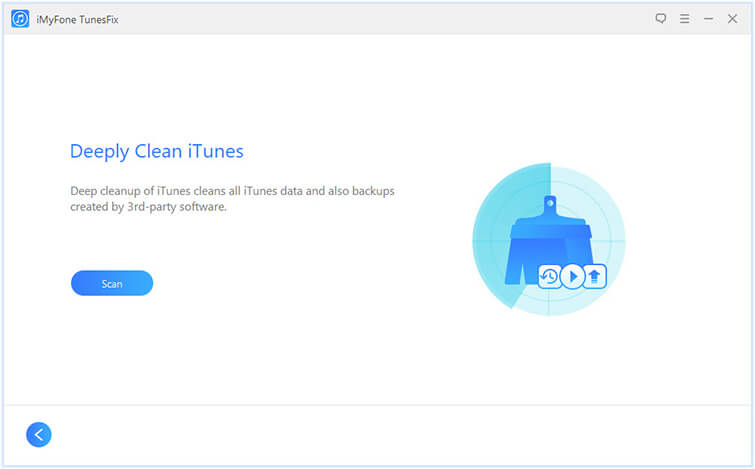 deep clean iTunes
