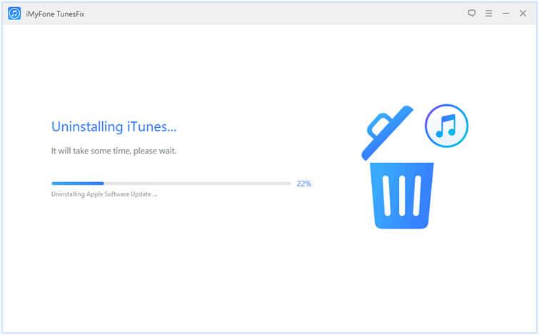 uninstalling iTunes