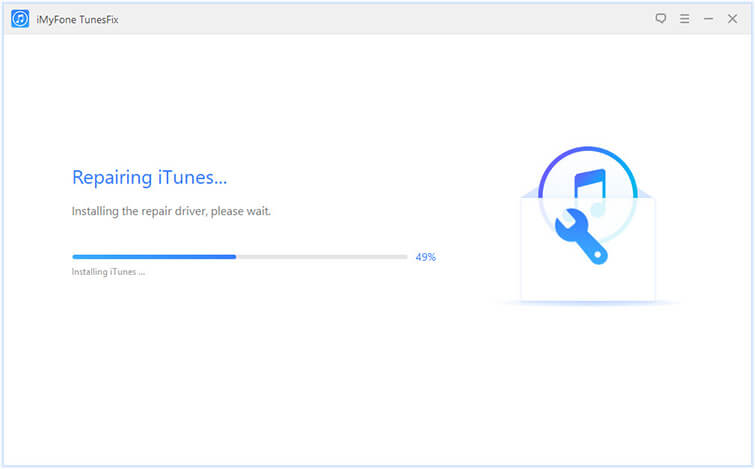 iTunesを修復