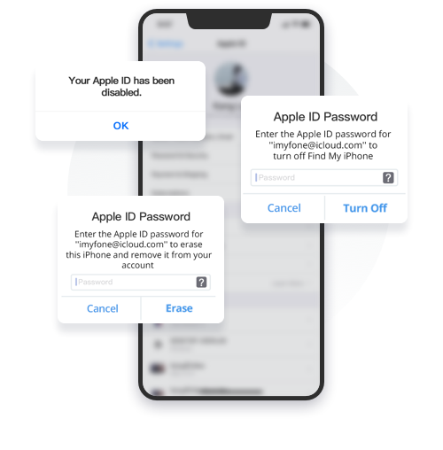 Apple IDを削除