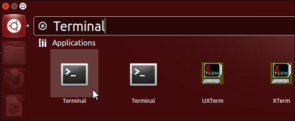 terminalを使用