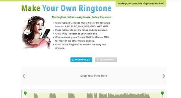 ringtone maker ホームページ