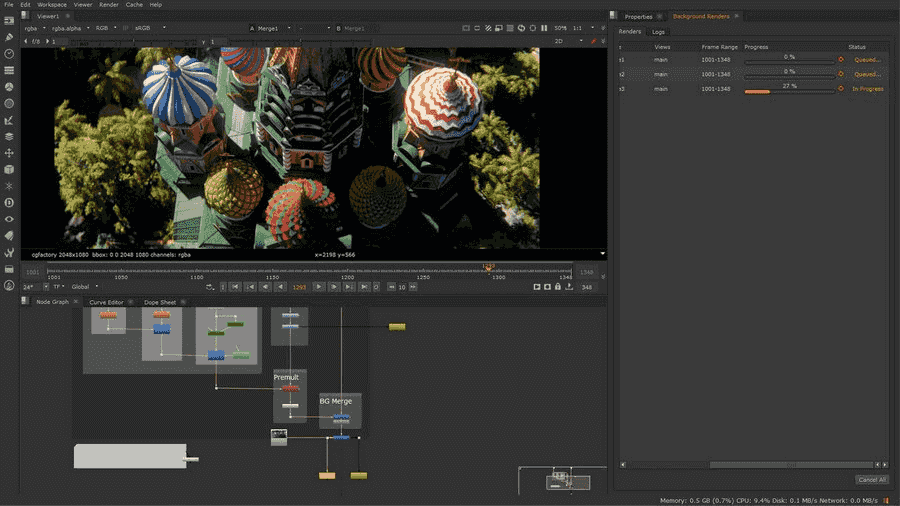 nuke video editor
