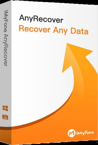 AnyRecover는 삭제된 파일 복구 도구