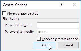 delete password to modify in excel