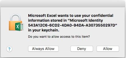 keychain allow
