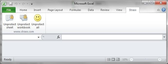 straxx excel password remover