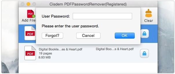 cisdem enter password