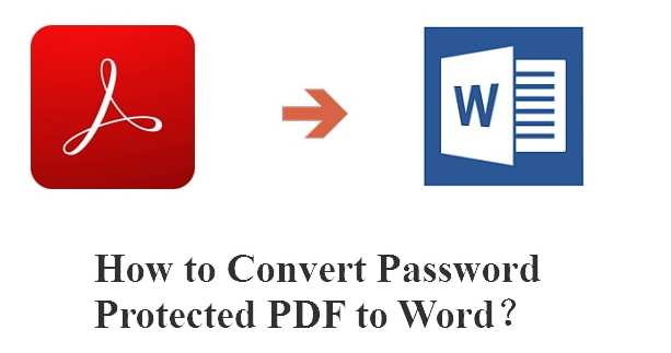 convert password protected PDF to word