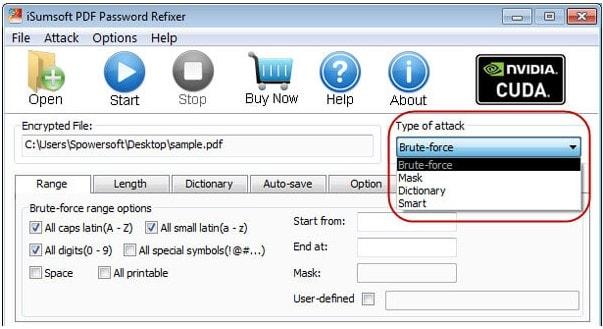 isumsoft pdf attack