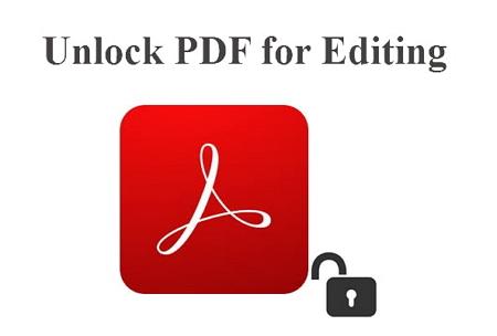 Unlock PDF for Editing