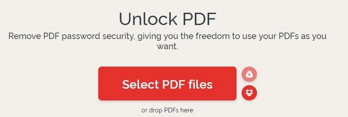 unlock pdf ilovepdf