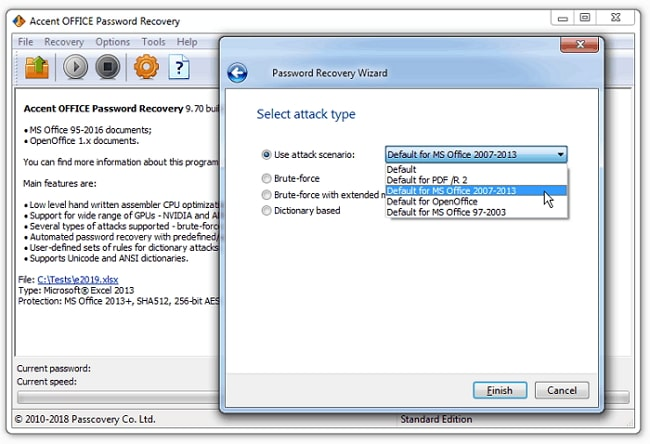 accent office password recovery