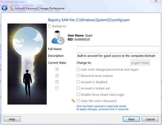 active@password changer