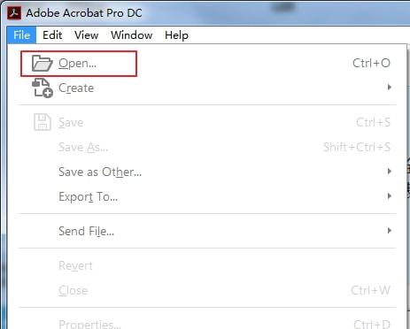 open PDF in Adobe