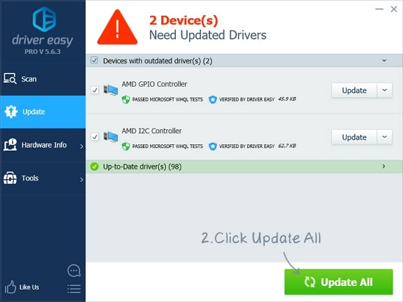 driver easy update