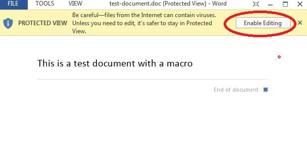 enable editing