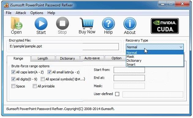 isumsoft powerpoint password refixer