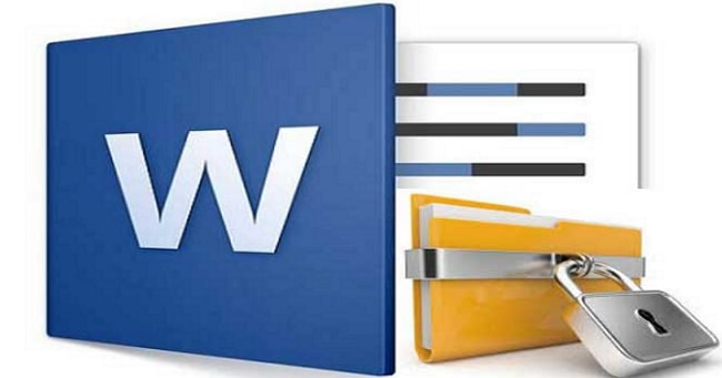 lock a word document