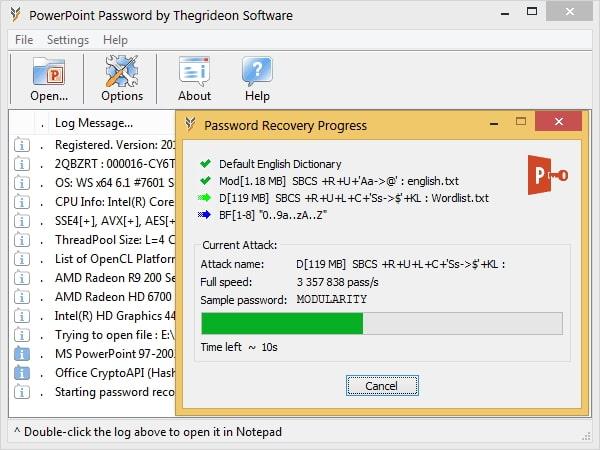 powerpoint password by thegrideon