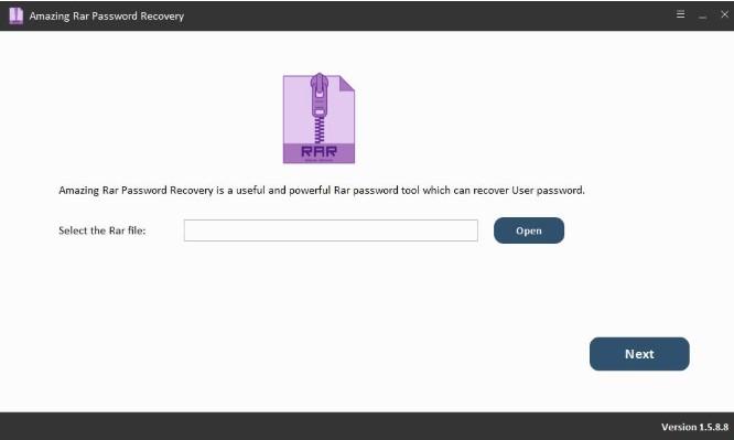 amazing rar password recovery