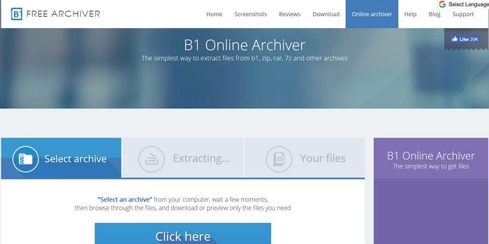 b1 online archiver