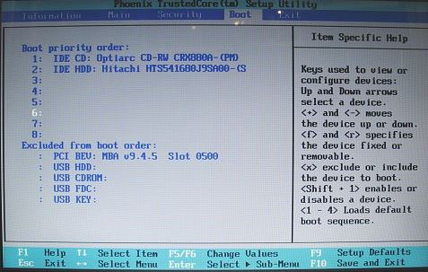 acer boot