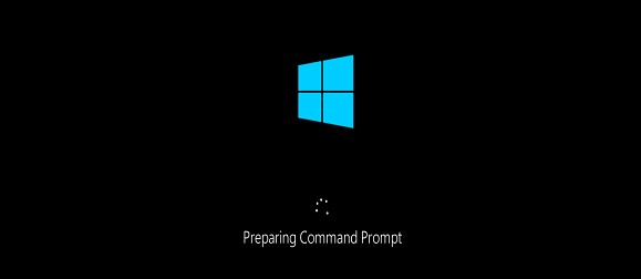 command prompt at boot
